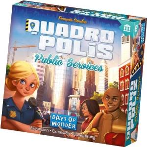 方格都市:公共建設擴充(英文版) Quadropolis: Public Service