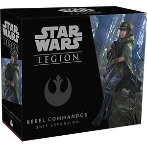 星際大戰軍團: 反抗軍敢死隊單位擴充 英文版 Star Wars Legion: Rebel Commandos Unit Expansion En