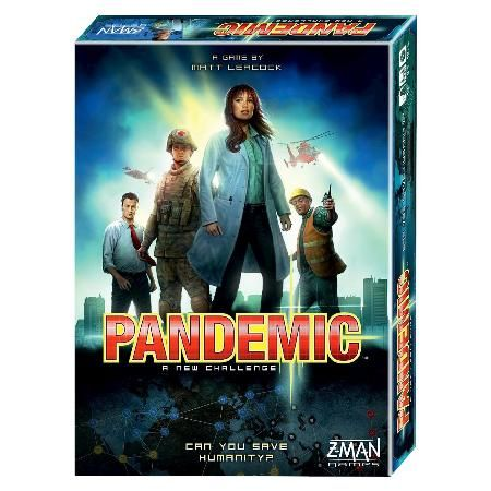 瘟疫危機 桌上遊戲  (中文版 ) Pandemic