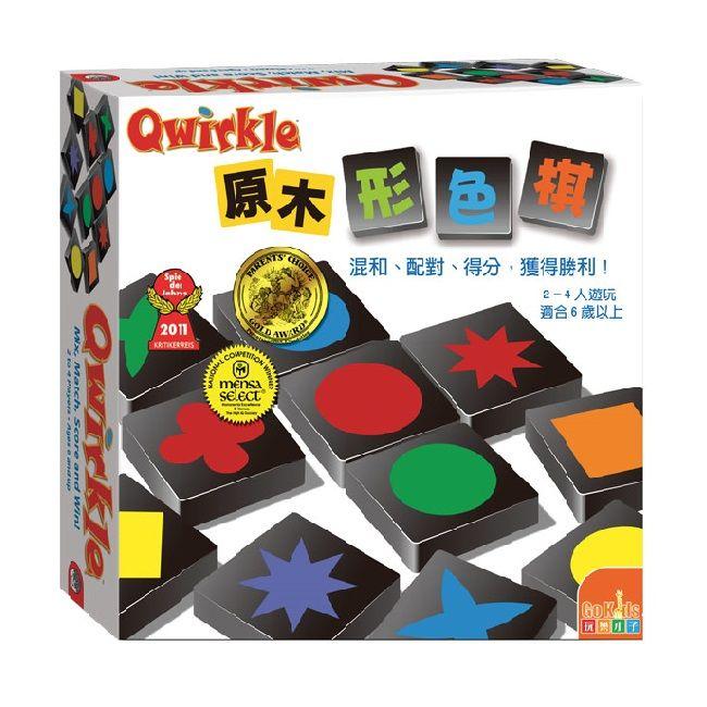 原木形色棋 桌上遊戲 Qwirkle