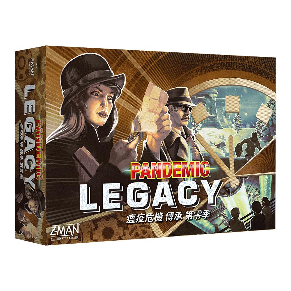 瘟疫危機傳承第零季 (中文版) Pandemic Legacy: Season 0