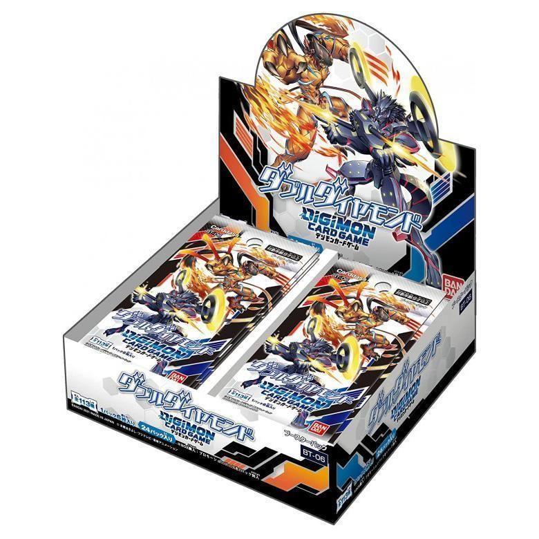 數碼寶貝 卡牌遊戲 補充包 第六彈BT-06 鑽石W 日文版(盒裝24入)